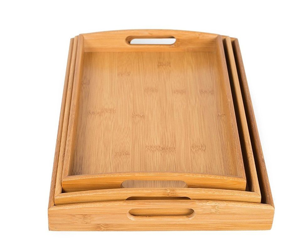 trending product of food serving tray serving tray handles